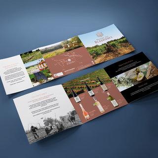 Brochure carrée 6 pages