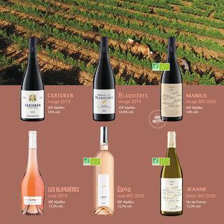 Etiquettes de vins