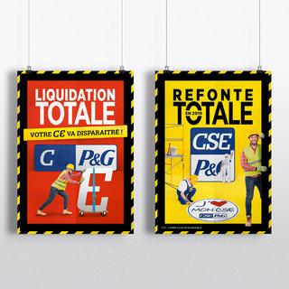Affiches - CSE Procter & Gamble