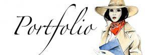 PORTFOLIO de DELPHINE AMADIEU Portfolio :Mode femme