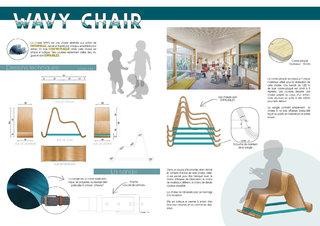 Design d'une chaise enfant