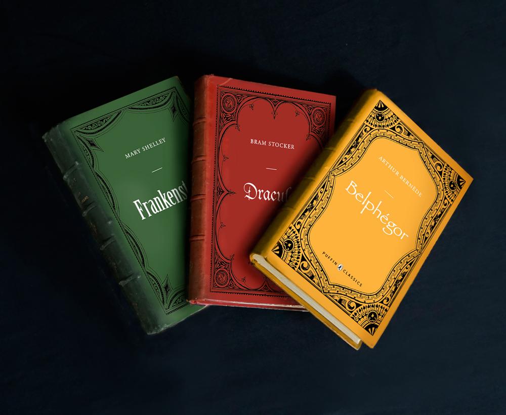 Couvertures de livres - Romans noir, Puffin éditions