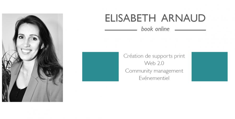 Le book en ligne d'Elisabeth Arnaud