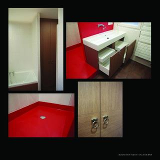 Salle de bain espace optimisé