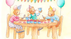 Happy birthday little mouse ! - Fanny Roch-illustrateur jeunesse