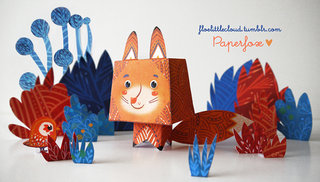 Papertoy Mister Fox