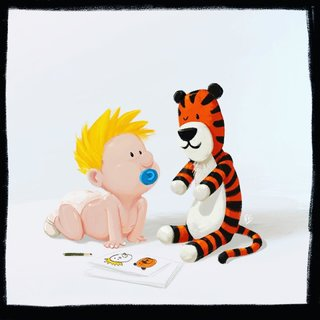 Calvin et Hobbes fanart
