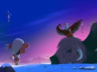 chasseur mongolien