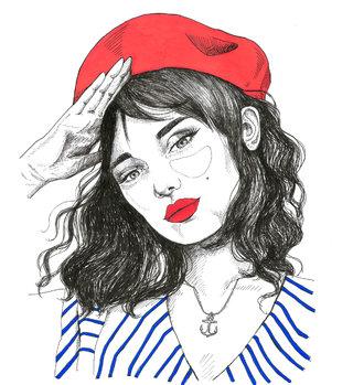 Marinière illustration