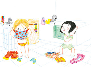 "Jinju ""ma soirée pyjama"", Flammarion, 2013"