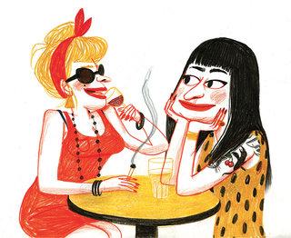 les filles à Paris (1)/Postcard from Paris, The Parisianer