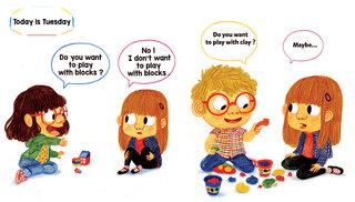 Sally goes to Kindergarten, Hansol Editions, Korea, 2015