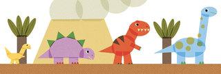 carte dinosaures