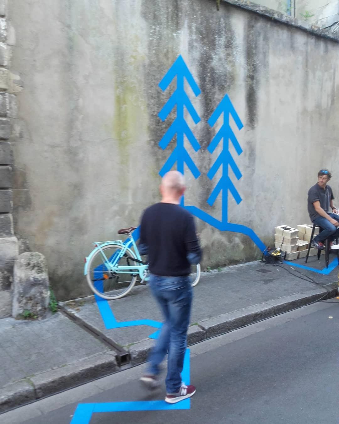 Making Off au Printemps Fleuriau - Festival d'art contemporain - Olivier ROCHEAU