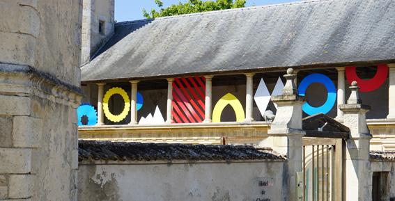 Vue de l'expostion au musée Ernest Cognacq - Saint Martin de Ré Olivier ROCHEAU