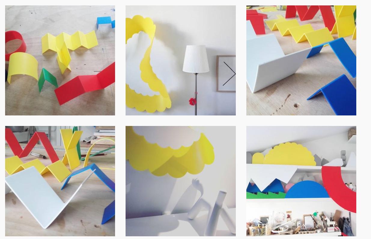 Modules d'intérieur d'apres le langage plastique Olivier ROCHEAU
