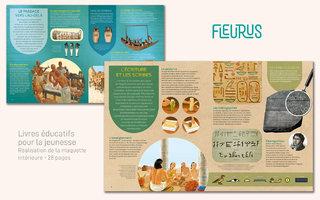 Fleurus - maquette intérieure