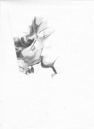 sans titre, 2015, crayon sur papier, 26,9x19,5 cm