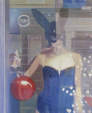 untitled II/XVI, 2016, acrylique sur toile, 50x41 cm
