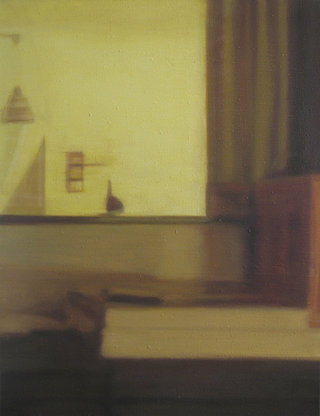 untitled II/XVII, 2017, huile sur toile, 65x50 cm