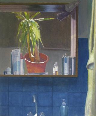 untitled IV/XVII, 2017, huile sur toile, 74x61 cm