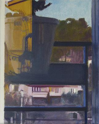 untitled V/XVII, 2017, huile sur toile, 30x24 cm