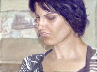 sans titre, 2010, aquarelle sur papier, 17,8x23,9 cm