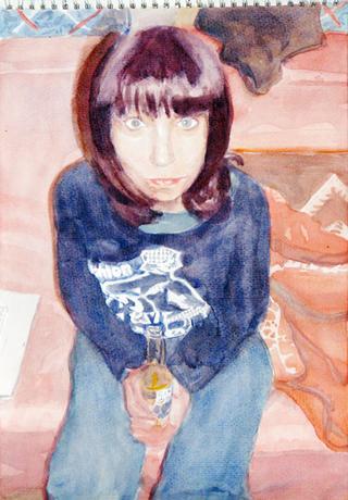 United Colors of World 9, 2009, aquarelle sur papier, 38x26,3 cm