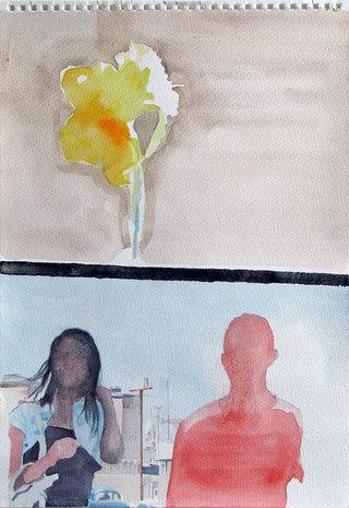 United Colors of World 5, 2009, aquarelle sur papier, 38x26,3 cm