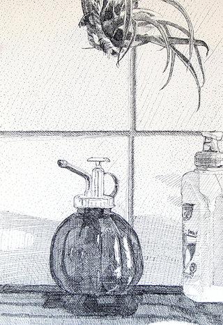 sans titre, 2013, stylo sur papier, 32,5x22,5 cm