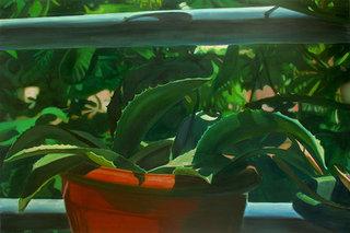 sans titre 2/14, 2014, huile sur toile, 80x120 cm