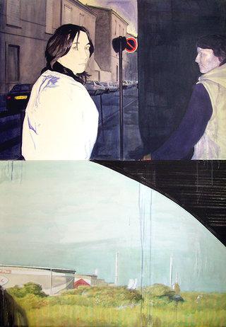 world,2007,acrylique sur toile,139x97cm.
