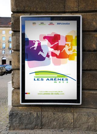 Les Arènes de Metz - affiches