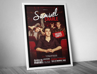 """Samuel Charle """"Presque complet"""" - affiches"""