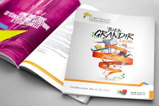 Bien grandir à Dijon 2016-2017 - Brochure de 104 pages