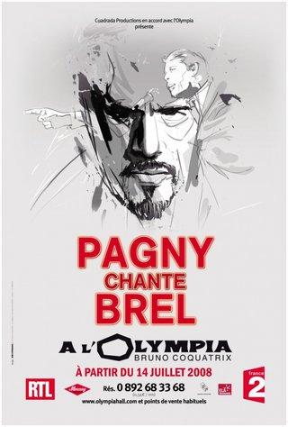 FLORENT PAGNY EN TOURNEE- affiches