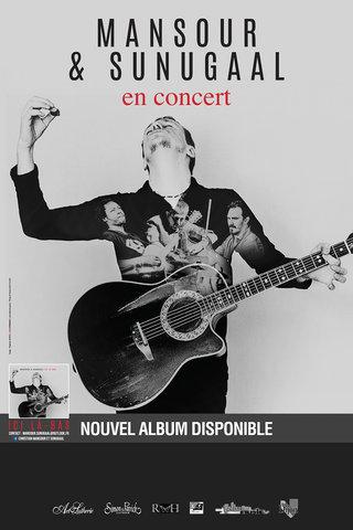 MANSOUR & SUNUGAAL en concert