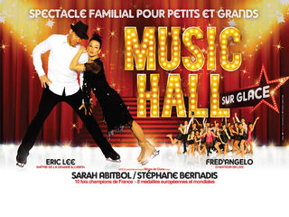 Music HALL sur Glace - affiches