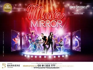 Music Mirror - Casinos Barrière Toulouse - affiches