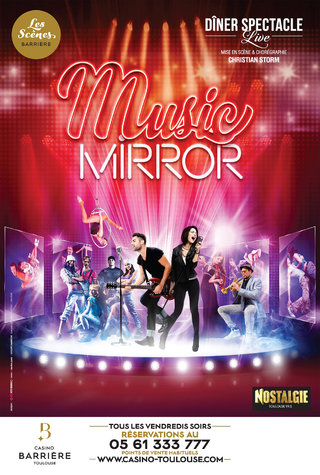 Music Mirror - Casinos Barrière - affiches