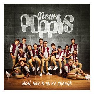 "New Poppys - Cover et logo ""Non, non rien n'a changé..."""