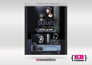 Newsletter Yves Jamait - nouvel album