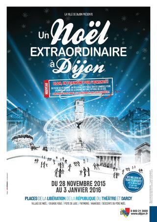 Un Noël extraordinaire - Dijon - affiches