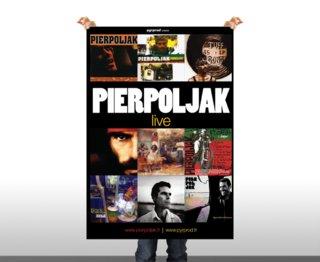 PIERPOLJAK en tournée - affiches