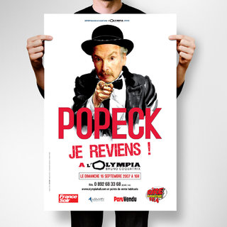 Popeck  - affiches