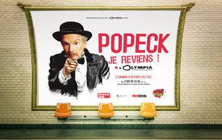 "Popek ""Je reviens"" - affiches"