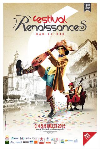Festival RenaissanceS 2015 - affiches