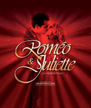 Romeo et Juliette - le spectacles musical - affiches