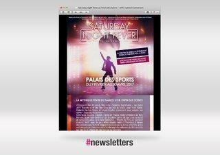 Newsletter Saturday Night Fever