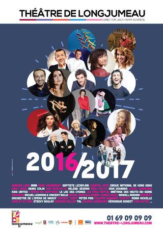 Théâtre de Longjumeau - Saison 2016/2017